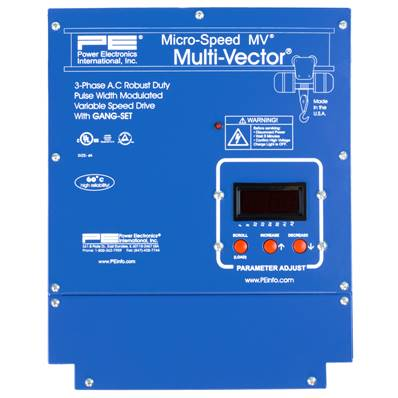 MMV10046(X): 65 - 131 Amp 100HP 480V Closed Loop Multi Vector VFD
