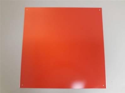 "000803-02: Target Plate For Zone Manager (Reflective) Oversize 24""x24"""