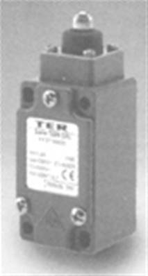 PF25760600: DIN Ball Plunger Limit Switch With 1NO + 1NC Contact