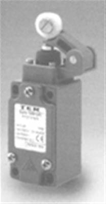 PF25761600: DIN Central Roller Lever Limit Switch With 1NO + 1NC Contact