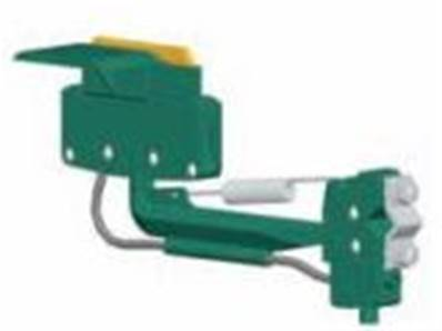 399380: 50 Amp Ground Collector (Green)