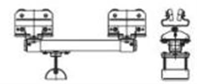 031590-140x70: S3-S6 Control Unit Trolley (70mm Cable Clamp)