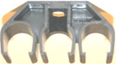 081145-1X3X20: Hanger Clamp With Square Nut