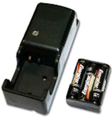700DIROP4-4: Battery Charger Kit w/ 4 Ni-Cad Batteries