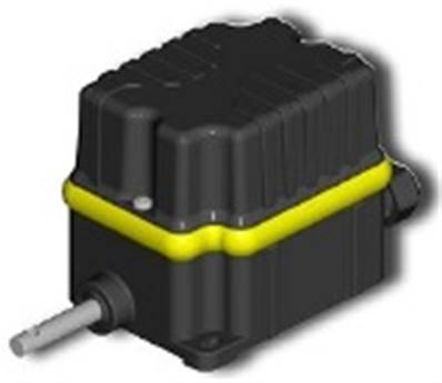 IP67 Base Rotary Limit Switch PFA9067A0103001 Ratio 1:100-2 Switches