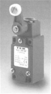 PF25765100: DIN Lateral Roller Lever Limit Switch 1NO + 1NC Contact