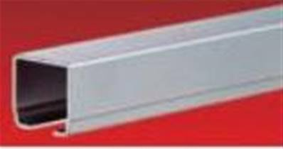 024100-4: Galvanized Steel C Rail - 4 Meter