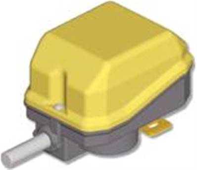 PF090200100001: Rotary Limit Switch PF2C - Ratio 1: 10 - 2 Snap Switches (Obsolete)