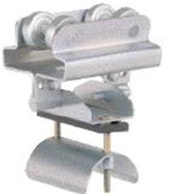 031550-140x70: S3-S6 Steel Cable Trolley (70mm Cable Clamp)