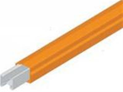 310001-J: 60 Amp Conductor Bar x 4.5m (Orange)