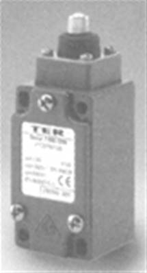 PF25760100: DIN Plunger Limit Switch With 1NO + 1NC Contact